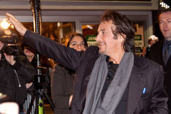 Al Pacino on premiere of his movie in Dublin Royalty Free Stock Image