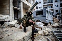 Al-Qaeda in Syria Stock Image
