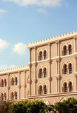 Al Qasba. Building in Sharjah, United Arab Emirates Royalty Free Stock Photo