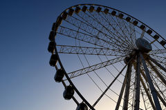 Al Qasba Ferris Wheel - Eye of the Emirates stock photos