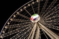 Al Qasba Observation Wheel Stockfoto