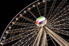 Al Qasba Observation Wheel Stock Photo