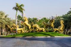 Al Qasr手段 迪拜,阿拉伯联合酋长国 免版税库存图片