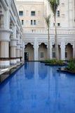 Al Qasr旅馆在迪拜 库存照片