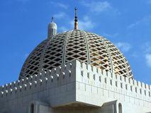 Al Qubrah Mosque in Muscat Oman. Muscat, Oman, Sultan Qaboos Grand Mosque Stock Photography