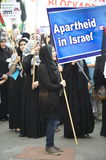 Al Quds rally 2014 in Vienna. Against the war in Gaza on 26.07.2014 Royalty Free Stock Image