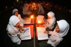 Al quran reading Stock Photos