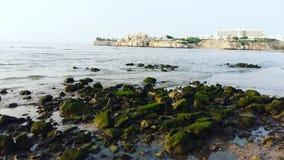 Al Qurum Beach sultanat av Oman Muscat fotografering för bildbyråer