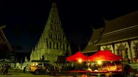 Al rallentatore della pagoda di Chedi Liem archivi video