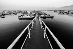 Al Rams Fishing Village. This shot was taken in Al Rams Fishing Village during the morning time Stock Photo