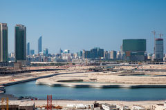 Al Reem Island Abu Dhabi imagen de archivo