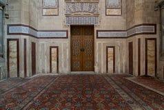 Al Rifaii清真寺皇家清真寺内部  库存照片