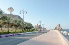Al Riyam Park in Muscateldruif, Oman Stock Afbeeldingen