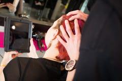 Al ` s del parrucchiere Fotografia Stock