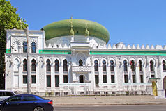 The Al-Salam Mosque and Arabian Cultural Center are located in Odessa, Ukraine Stock Photo