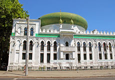 The Al-Salam Mosque and Arabian Cultural Center are located in Odessa, Ukraine Stock Image