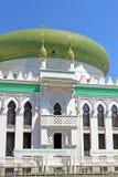 Al-Salam Mosque och den arabiska kulturella mitten lokaliseras i Odessa, Ukraina Royaltyfri Bild