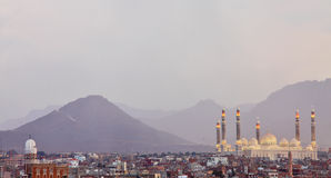 Al Saleh Mosque in Sanaa, Yemen Royalty Free Stock Photography
