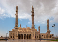 Al Saleh mosque in Sanaa, Yemen Stock Image