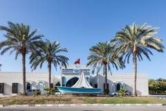 Al Sawadi海滩旅馆在马斯喀特,阿曼 免版税图库摄影