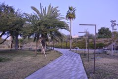 Al Shaheed Park Kuwait Royalty-vrije Stock Afbeelding