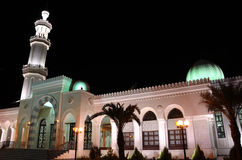Al-Sharif Hussein bin Ali Mosque. In Aqaba, Jordan stock photo