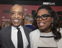 Al Sharpton an Oprah Winfrey Royalty Free Stock Photography