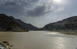 Al Shawkha вадей, Рас-Аль-Хайма Стоковая Фотография
