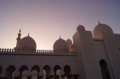 AL SHEIKH ZAYED meczet Zdjęcie Royalty Free