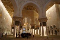 AL SHEIKH ZAYED meczet Zdjęcia Stock
