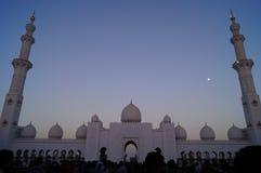 AL SHEIKH ZAYED meczet Obraz Stock