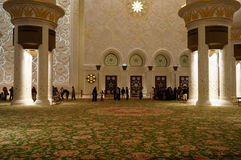 AL SHEIKH ZAYED meczet Obrazy Stock