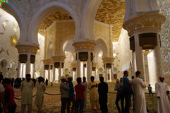 AL SHEIKH ZAYED MOSQUE Stock Photo