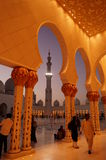AL SHEIKH ZAYED MOSQUE Royalty Free Stock Image