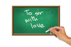 Al sir con amor Imagen de archivo