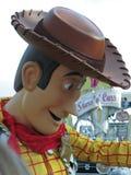 Al ster uitdrukkelijk in Disneyland Stock Foto's