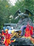 Al ster uitdrukkelijk in Disneyland Royalty-vrije Stock Foto's