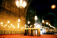 Al Sultan Hassan mosque in cairo Royalty Free Stock Photo