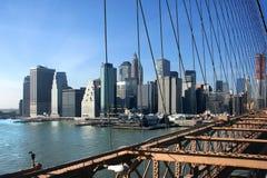 Al sur de Manhattan imagen de archivo