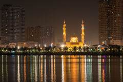 Al Tagwa mosque in Sharjah, UAE Royalty Free Stock Photography