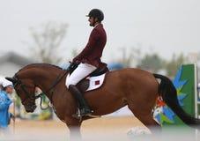 AL THANI Ali Khalid A av Qatar Arkivbilder