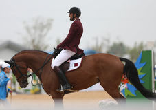 AL THANI Ali Khalid A of Qatar Stock Images