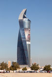 Al Tijaria Tower i Kuwait City Royaltyfri Fotografi