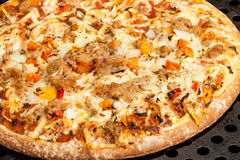 Al Tonno de la pizza Fotografía de archivo libre de regalías