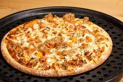 Al Tonno della pizza Fotografia Stock