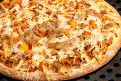 Al Tonno della pizza Fotografia Stock Libera da Diritti