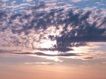 Al tramonto. Immagini Stock Libere da Diritti