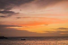 Al tramonto Immagini Stock