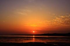 Al tramonto Immagini Stock Libere da Diritti