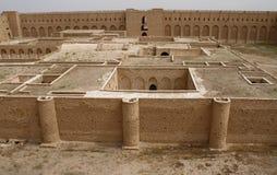 Al Ukhaidar-Festung, der Irak Stockfotos